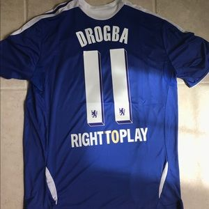 adidas Other - New Didier Drogba 2012 Champions league jersey